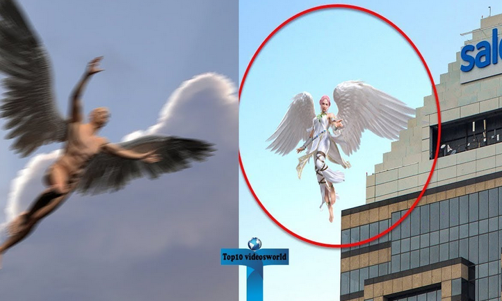 Top 10 Angels Caught On Camera Flying